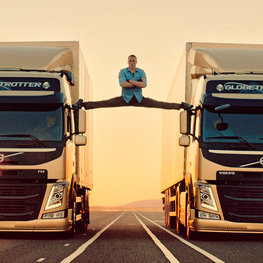 "Volvo FM: ""The Epic Split"""