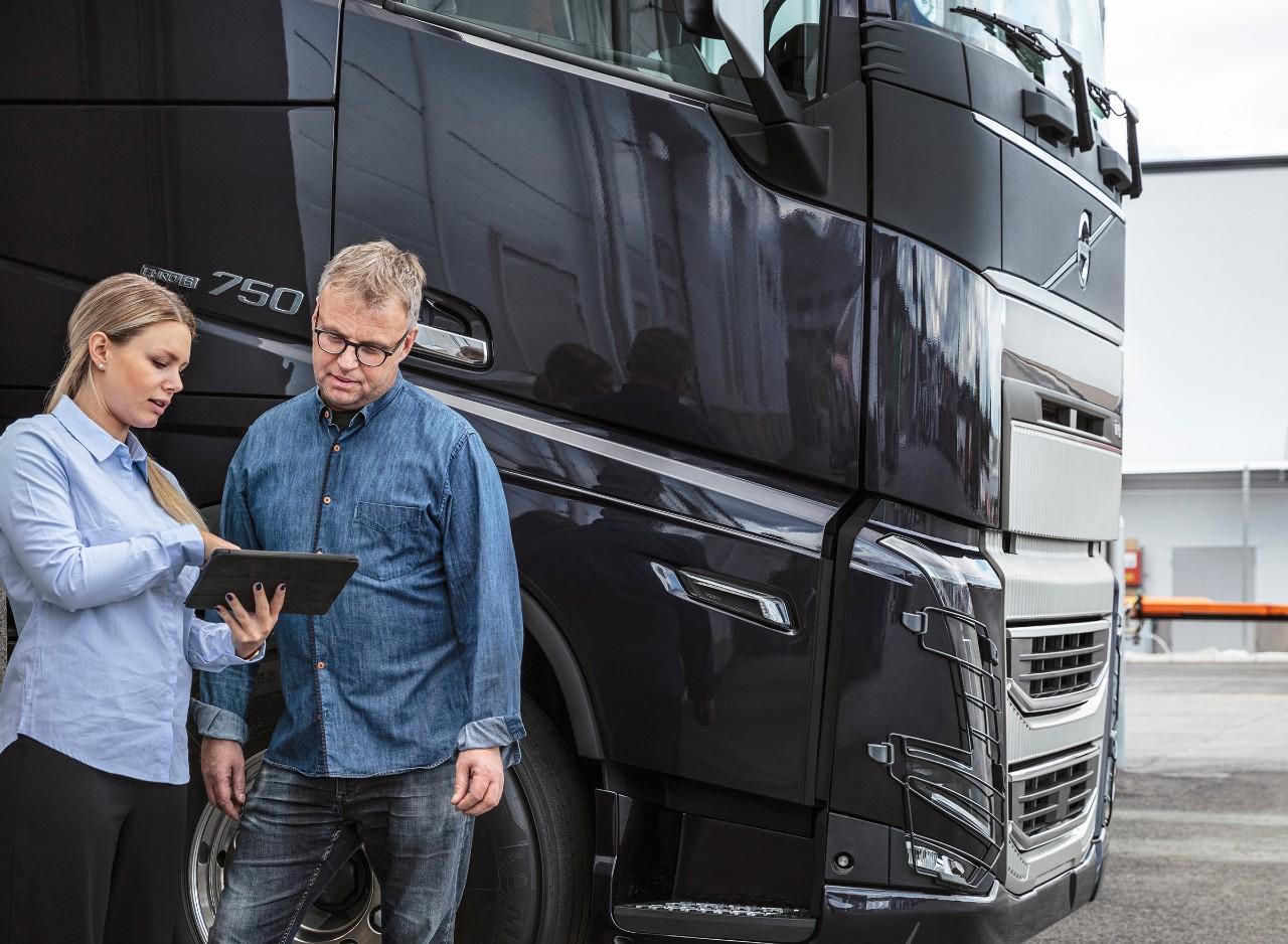 Volvo Connectiga töötamine sülearvutil